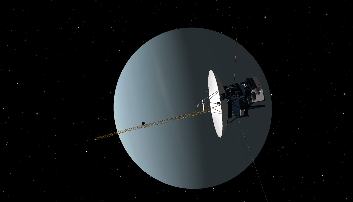 what spacecraft visited neptune - photo #8
