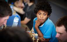 Fahim Mohammad, champion de France pupille