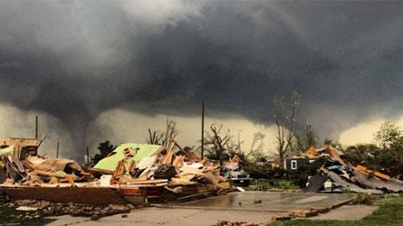 Le Nebraska (USA) dévasté par des tornades jumelles
