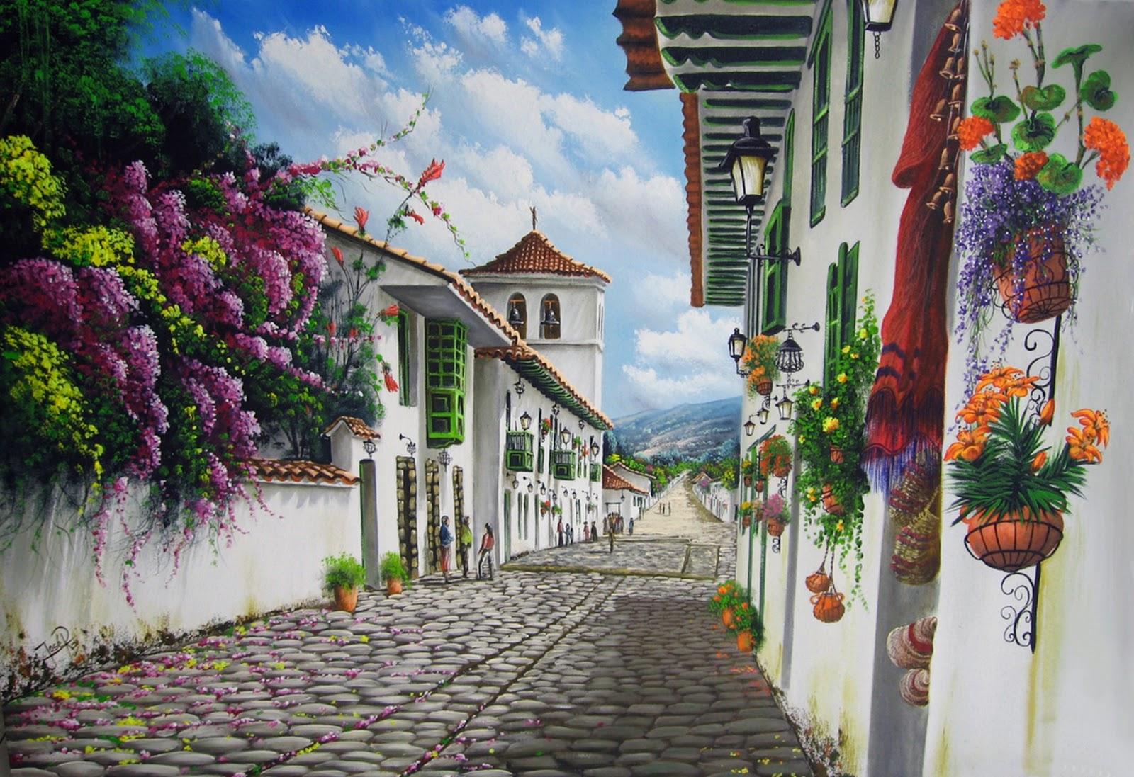 Armario Keter Jardin ~ Imágenes Arte Pinturas Paisajes Rústicos alÓleo