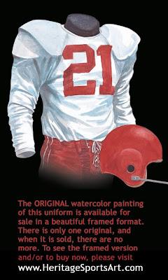 1956 Chicago Cardinals uniform
