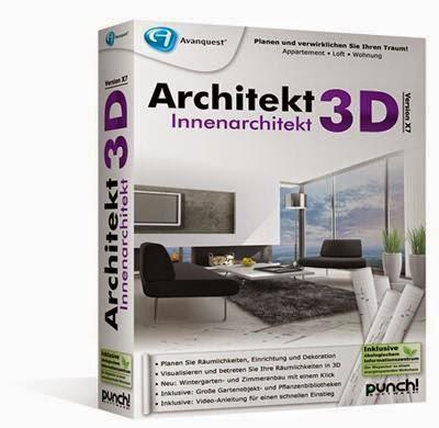 Architekt 3D X7.6 Innenarchitekt German