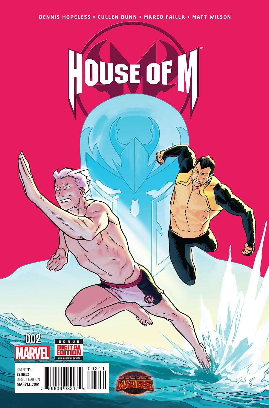 Preview House of M 2   RISE OF THE X-MEN