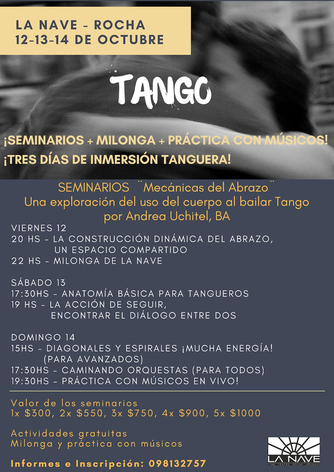 Inmersión Tanguera en Rocha, Uruguay