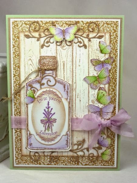 Our Daily Bread Designs, Lavender, Faith, Apothecary Bottles