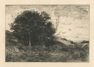 Paysage by Jean-Baptiste-Camille Corot