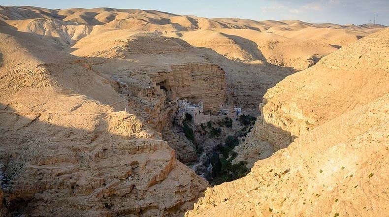 The Monastery of Wadi Qelt