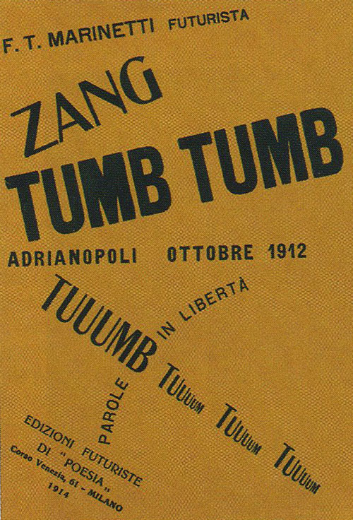 A History of Graphic Design: Chapter 44; The Italian Futurist Visual Design