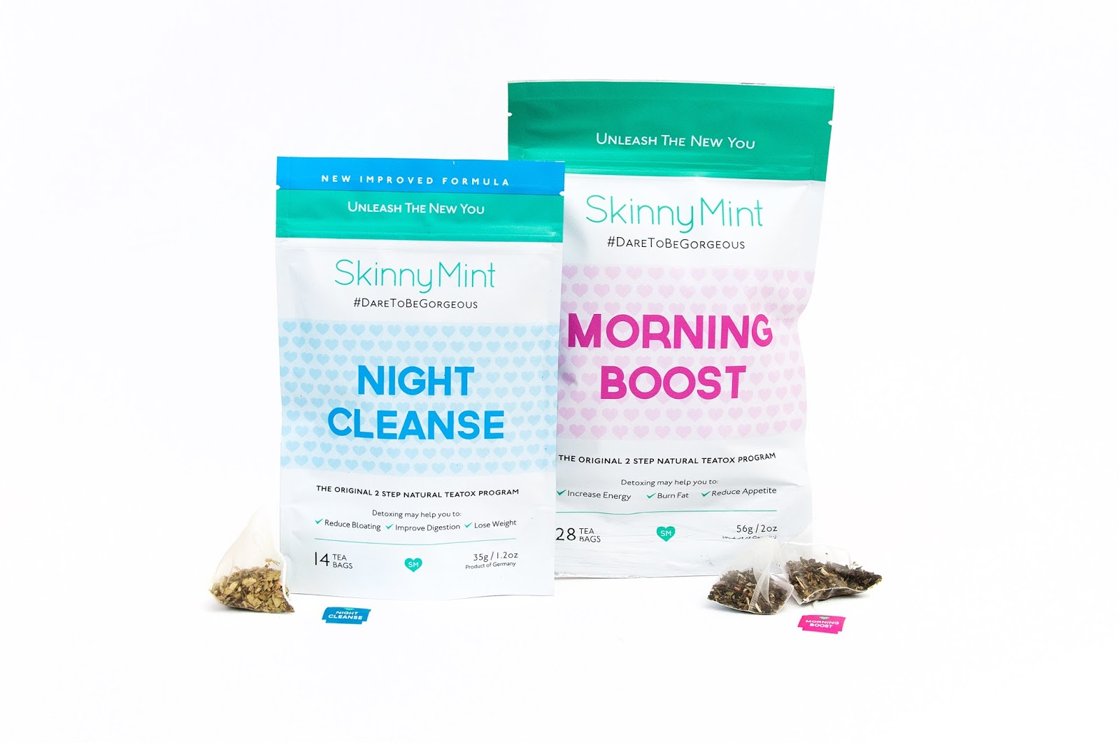 how to use skinnymint teatox