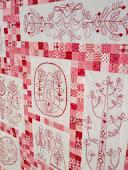Scandinavian Rose Quilt