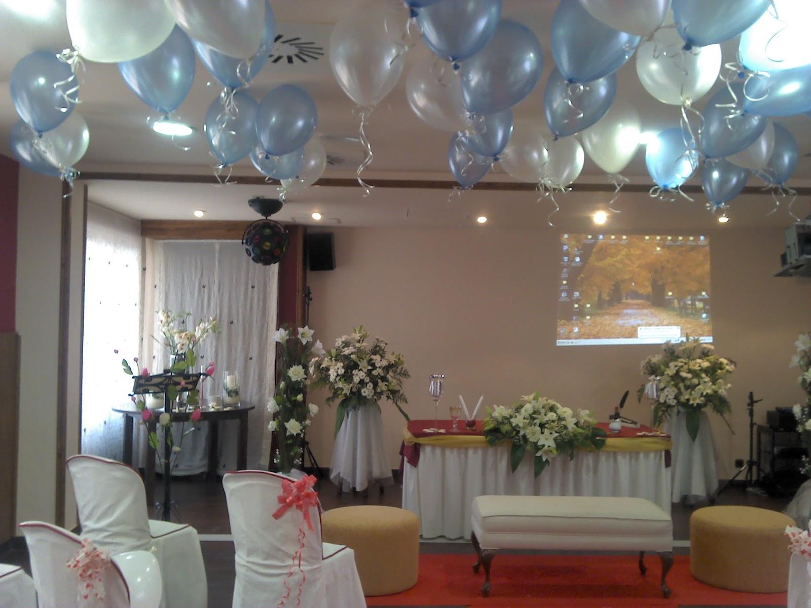 Lanas y barro octubre 2012 for Decoracion con globos bodas