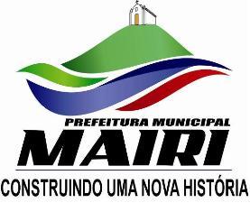 Site da Prefeitura de Mairi-Ba