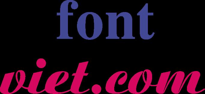 Font Việt của người Việt