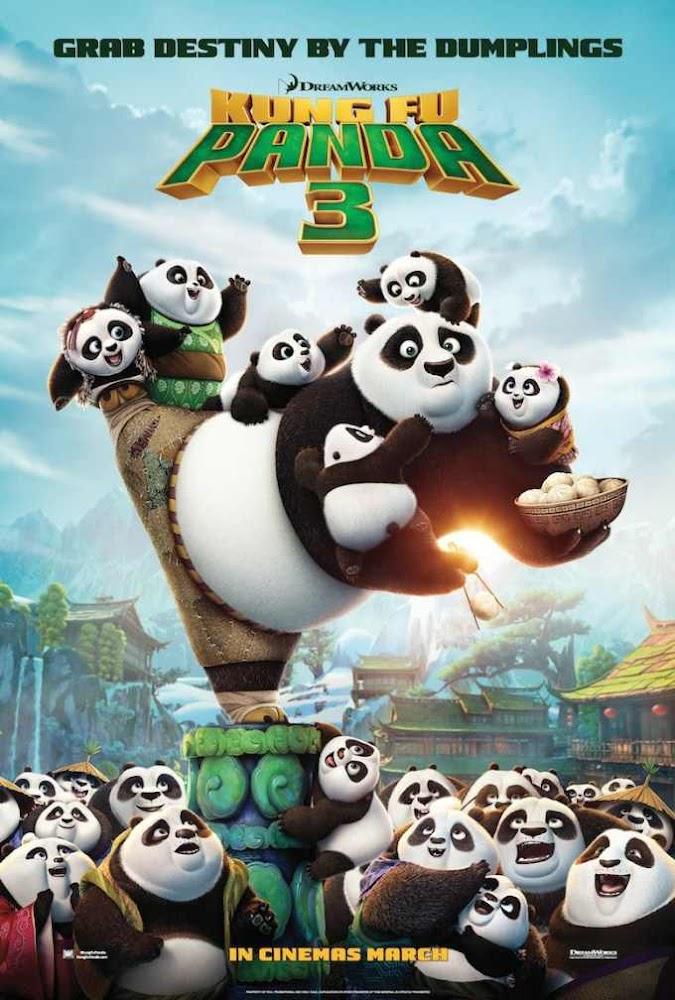 Download Film Movie Kung Fu Panda 3 2016 HdRip BlURay 480p 720p 1080p Subtitle Indonesia English