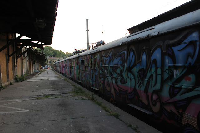 Sirkeci tren garı graffiti tren