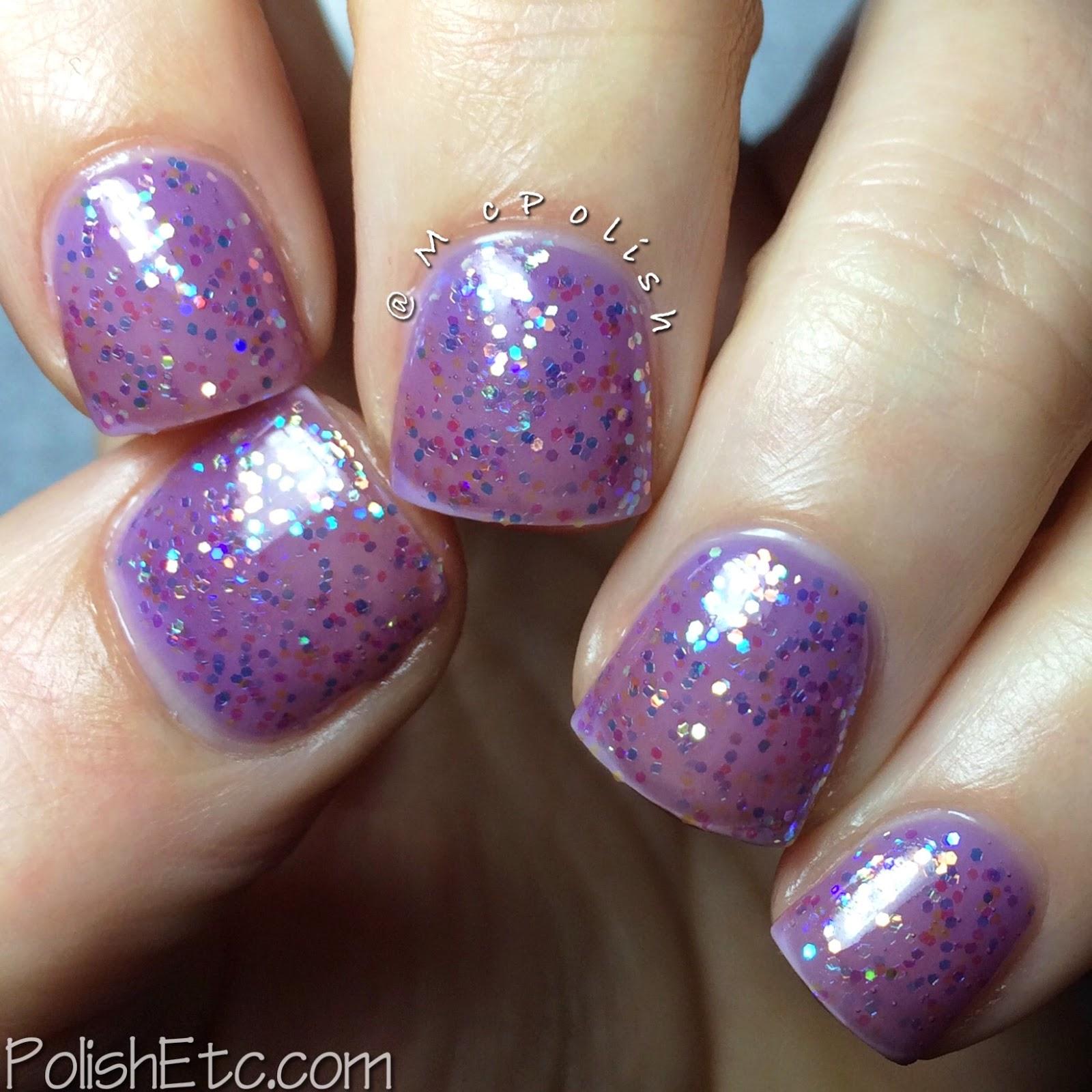 Pure Ice - New Year New Hue Jellies - Purple Haze -McPolish