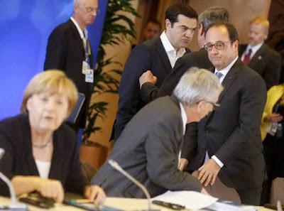 ΕΚΤΑΚΤΟ: Τελείωσε η Σύνοδος Κορυφής – Η Ελλάς εάλω! Ξεπούλησαν τα πάντα τα αριστερά ανδρείκελα του μνημονίου