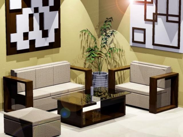 Dekorasi Ruang Tamu Minimalis Modern Terbaru