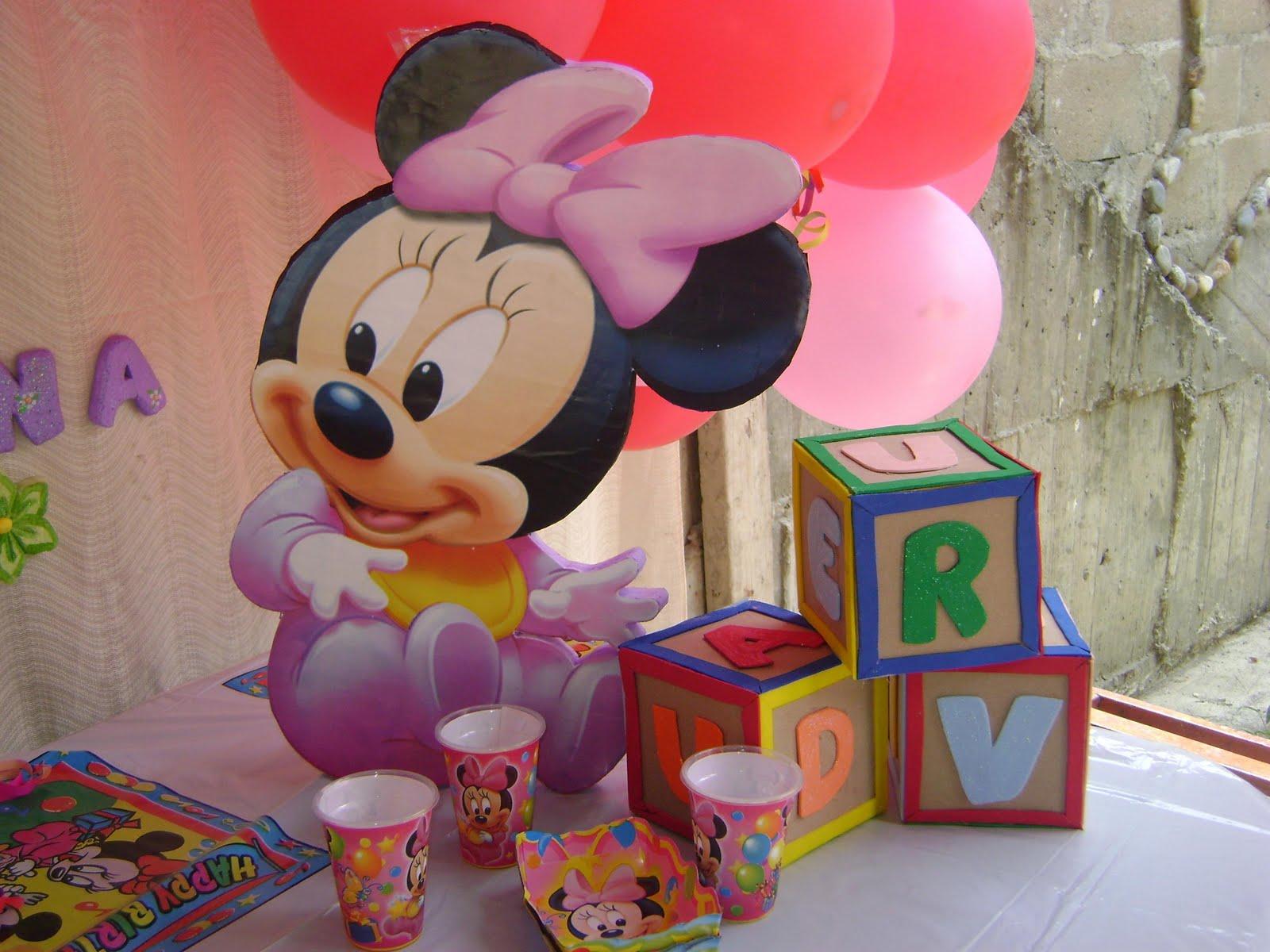 Decoracion Minnie Baby ~ Decoraciones y Manualidades YORYVAN MINNIE BABY (DECORACI?N )