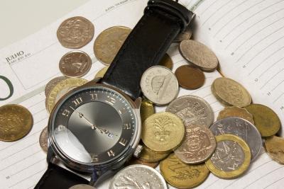 Czas to pieniądz, fot: Raphael Pinto, sxc.hu