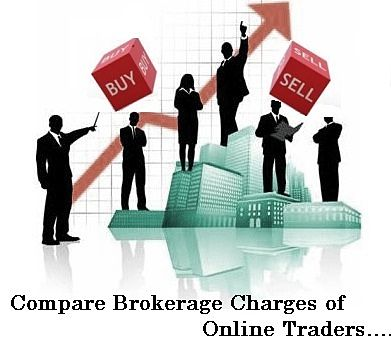 Brokerage charges comparison in india