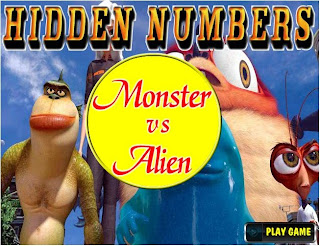 http://freakingames.net/view/341/Hidden-Numbers---Monster-Vs-Alien.html