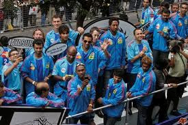 Mumbai Indians Team Parade