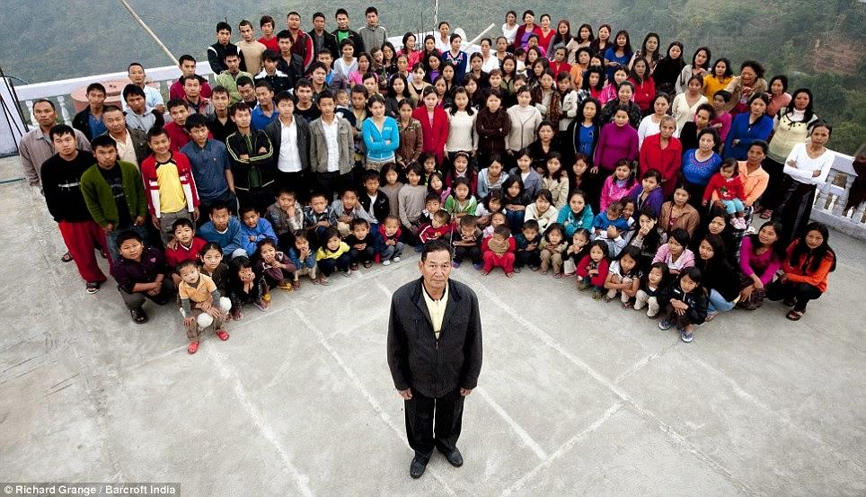 la familia mas grande del mundo