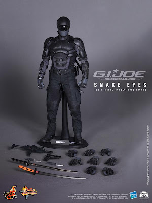 Hot Toys GI Joe Retaliation Movie Snake Eyes
