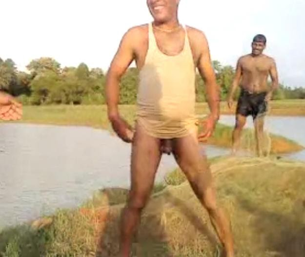 funny indian nude boy