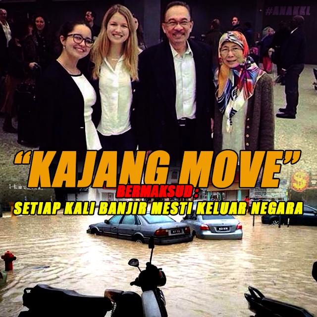 Kenapa Anwar Takut AIR BANJIR?!