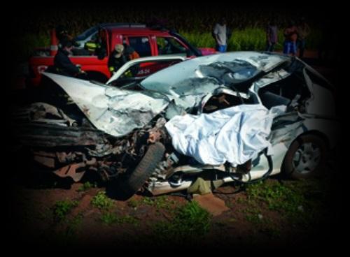acidente mata pessoas na estrada