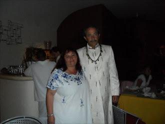 Con Luis Alfonso Ortiz Oscoy