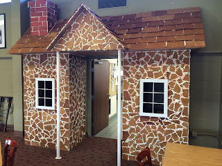CPTC Students Build Giant Gingerbread House to Kick Off the Holiday Season