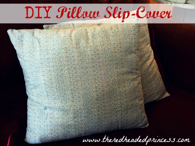 Removable Pillow Cover