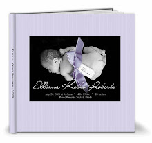 Ellie's newborn photo book