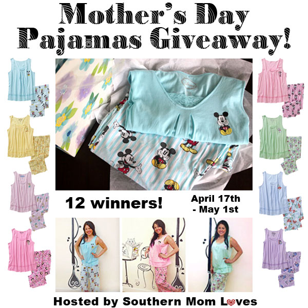 Mother's Day Celebration Pajamas Giveaway 05/1 ~ Tales ...