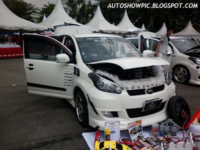 Modified Myvi Autoshow Car