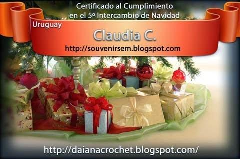 Certificado inter Daiana 2013