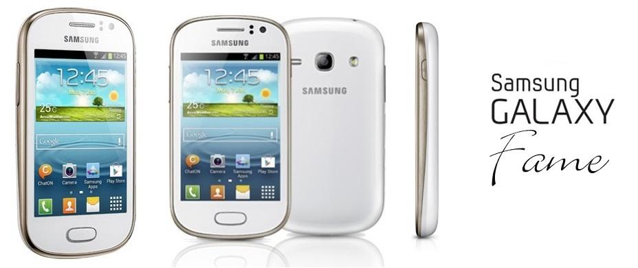 Gambar Samsung Galaxy Fame GT-S6810 - Putih
