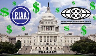 MPAA-RIAA lobbying image from Bobby Owsinski's Music 3.0 blog