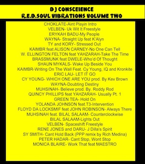 DOWNLOAD R.E.D.SOUL VIBRATIONS VOL TWO MIXTAPE...FREE