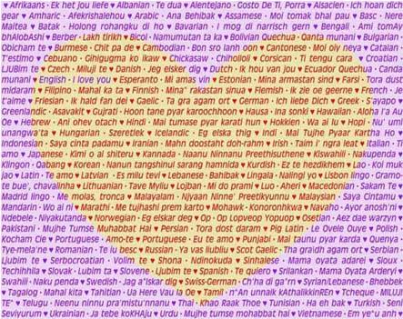 Kumpulan Kata Kata Cinta (Bisa buat SMS & Status di facebook)