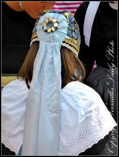 Coiffe Quimper Bonnet Breton costume