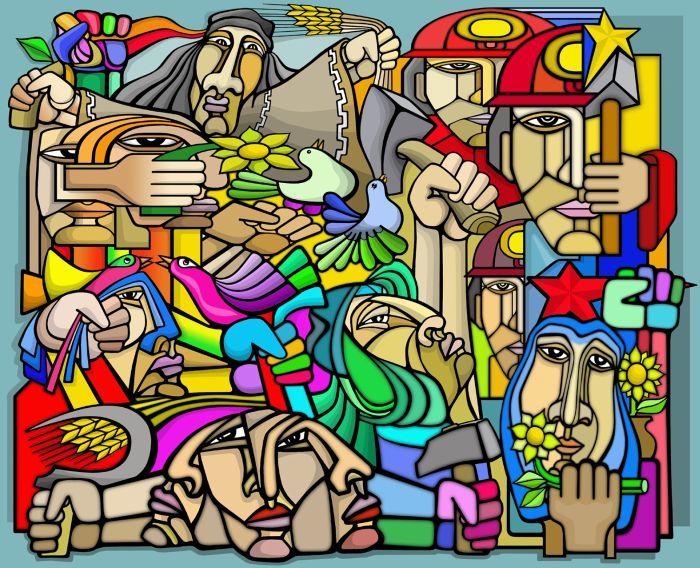 Artstyle murales chilenos for Murales faciles y creativos