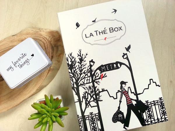 3 mois d'abonnement à la Thé Box : mon avis