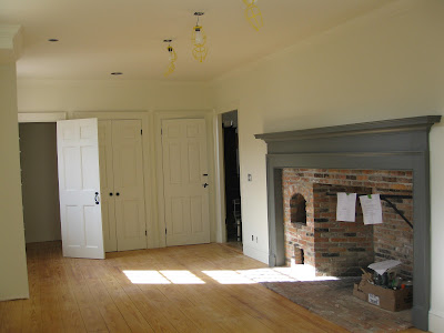 Lily 39 s house a completed project for Benjamin moore monterey white