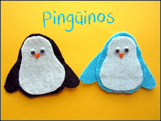 Broche Fieltro Pingüino