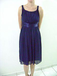 modelos de Vestidos Azul Marinho