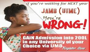 Gain Admission without jamb and post utme into 200 level through IJMB